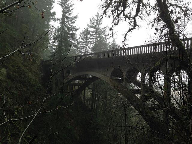 bridge, aesthetic, and dark image
