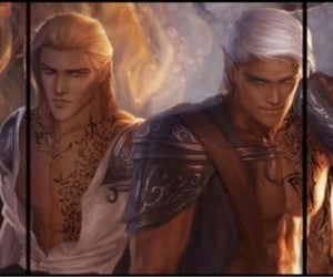 fae, throne of glass, and gavriel image