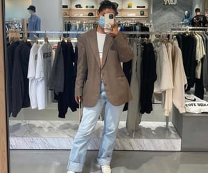 beige, fashion, and model image