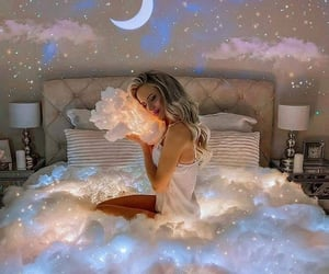 clouds, cozy, and Dream image