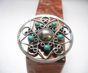 etsy, modernist, and turquoise blue image