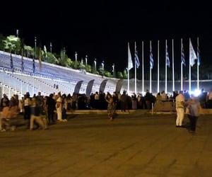 Athens, stadium, and Greece image