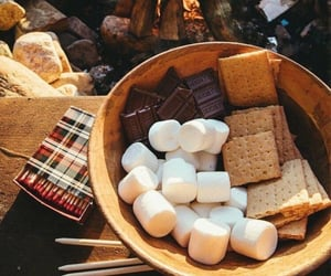 autumn, fall, and smores image