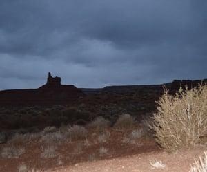 nightfall, utah, and desert valley of the gold image