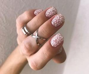 fashion, girl style, and nails white image