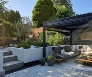 exterior, jardim, and natureza image