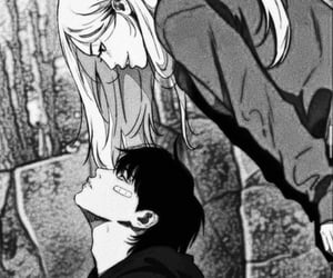 art, anime couple, and shonen image