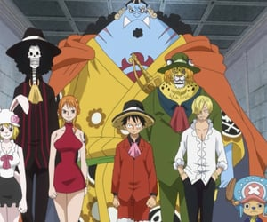 anime, chopper, and brook image