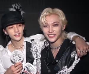 felix, lq, and hyunjin image