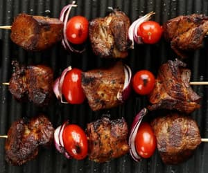 grilled and meat image