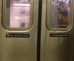 snap, do not fall in love, and subway image