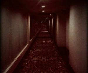 creepy, fun, and hallway image