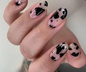 nails, style, and vaca image