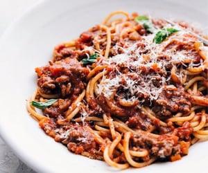 aesthetic, cibo, and pasta image