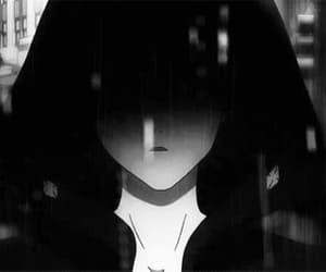 anime, dark, and black image