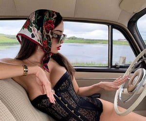car, fashion, and Queen image