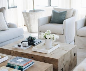 decor, coffee table, and living room image