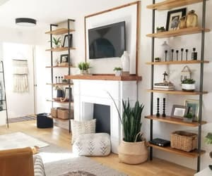 house, interior design, and living room image