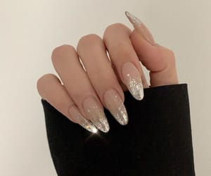 glitter, nails, and fashion image