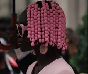 beads, black women, and runway image