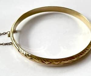 etsy, bangle bracelet, and layering bracelet image