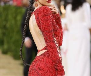 back, fashion, and hair image