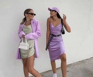 fashion, purple, and style image