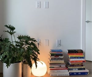 apartment, bedroom, and book image