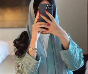 arab, arabia, and dress image
