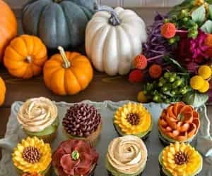 cupcake, autumn, and fall image
