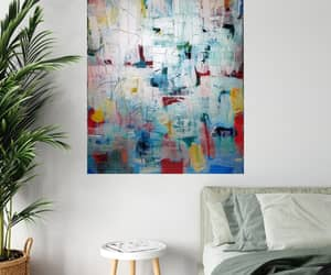 Abstract Painting, acrylic, and art image