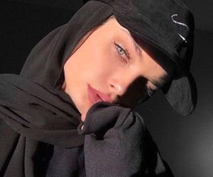 beauty, girls, and hijab image