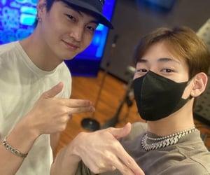 kpop, bambam, and jay b image