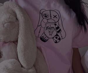 anime, dark, and pink image