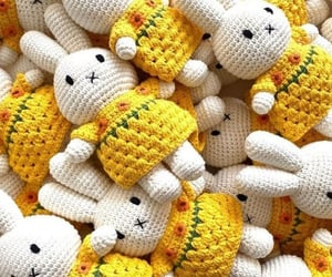 bunnies, toys, and crochet image