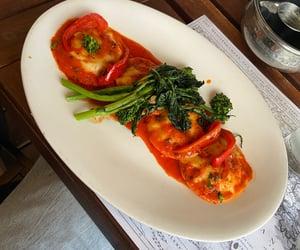 broccoli, restaurant, and italian food image