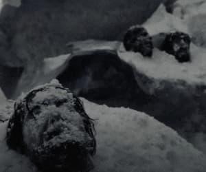 core, creepy, and snow image