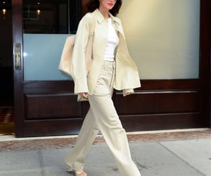 beige, celebrities, and fashion image