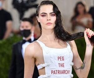celebrities, MET, and model image