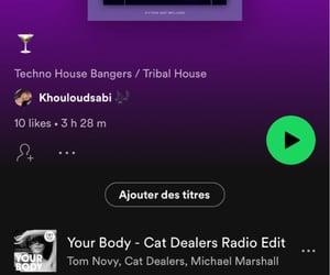 dance, party, and spotify image