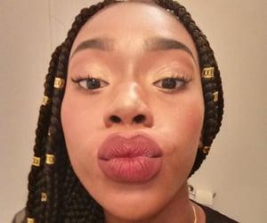 eyes, melanin, and black girl image