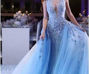 girl, formal dress, and fashion image
