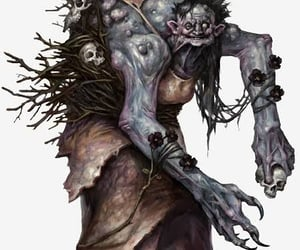 evil, monster, and hag image