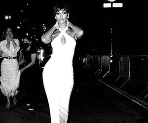 catwalk, Lily Aldridge, and MET image
