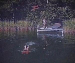 1980s, camp, and lake image