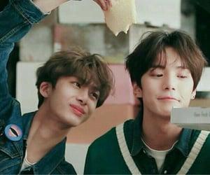 lee minhyuk, mx, and chae hyungwon image