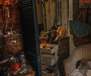 bookcase, decor, and ikea image