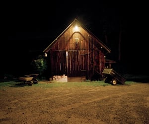 barn, country living, and night image