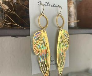 accessories, earrings, and faeries image