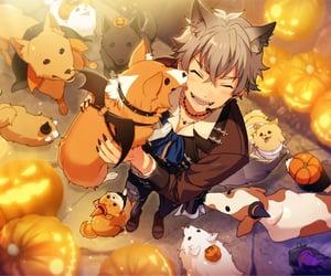 anime, card, and ensemble stars image